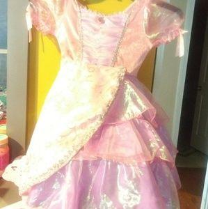 Size 4-5 sleeping beauty princess dress.